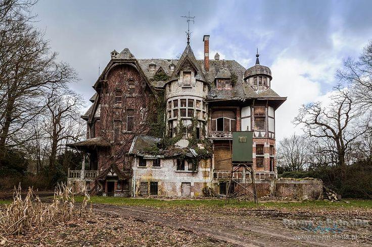 Chateau Nottebohm,urbex,verlaten Kasteel,belgië