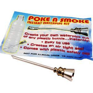 Amazon.com: Poke n' Smoke - Instant Water Pipe Kit!@Kaylee Score Score Cluff