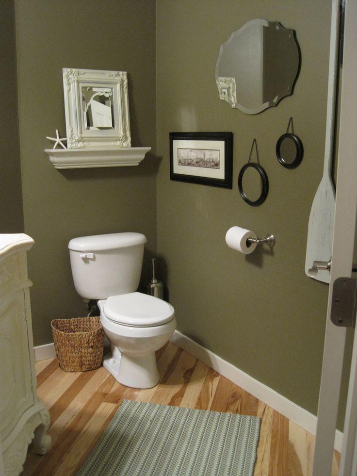 paint, mirrors, shelf, basket