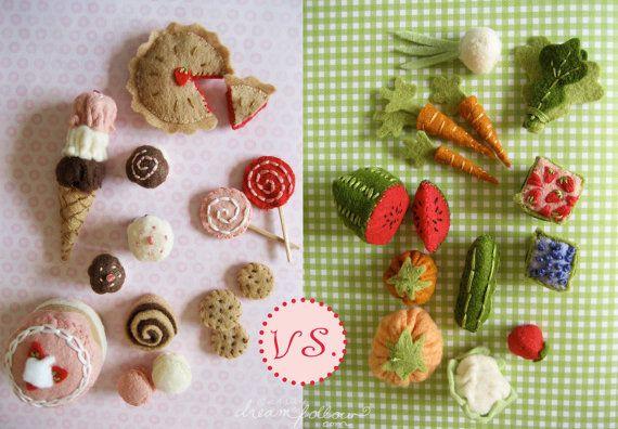 Mini Sweet Shoppe PDF pattern by littledear on Etsy