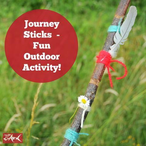 Journey Sticks - A Fun Outdoor Activity For Children – Tigershark Apparel Ltd