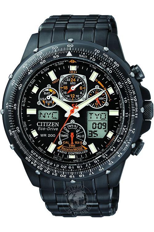 CITIZEN SKYHAWK AT BLACK EAGLE WATCH JY0005-50E
