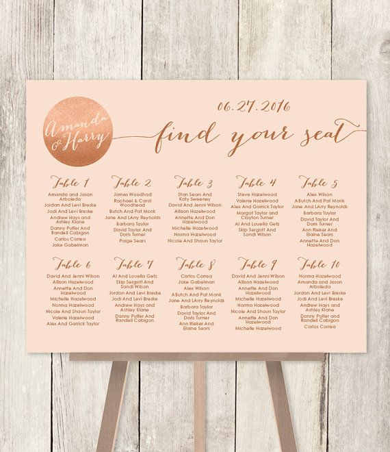 67 best wedding seating charts images on pinterest wedding wedding seating chart sign diy gold sparkle wedding sign metallic gold and cream find your seat printable pdf customized sign by jadeforestdesign stopboris Gallery