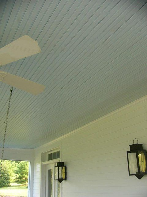 Porch Ceiling Benjamin Moore Blue Angel From The Curb To Back Fence Pinterest And