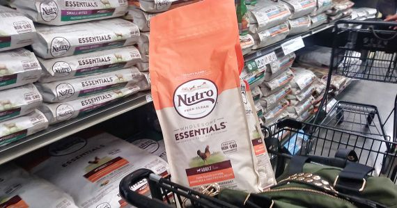 Score a free bag of NUTRO Dog Food if you're one of the lucky first 100 at PetSmart tomorrow!