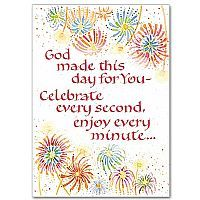 92 best religious card ideas images on pinterest cardmaking first god made this day for you birthday card m4hsunfo