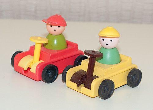 Малыши (машина). Советские игрушки - http://samoe-vazhnoe.blogspot.ru/ #фигурки_малыши