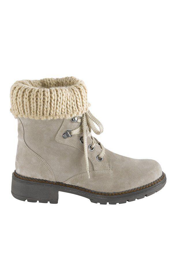 Für den rustikalen Bergsteiger-Look machen sich die Stiefeletten von Heine hervorragend zum Dirndl, um 130 Euro.