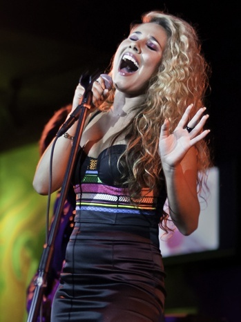 This weekend, Haley Reinhart became the first American Idol finalist to ever perform at Lollapalooza