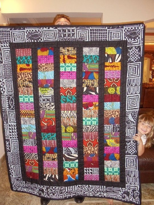 African streets quilt                                                                                                                                                                                 More