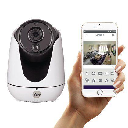 Home View Pan Tilt Zoom IP Camera - WIPC-303W - IP Cameras - Smart locks, smart home alarm systems, Doormaster™ replacement multipoint locks, British Standard cylinders, nightlatches, mortice locks