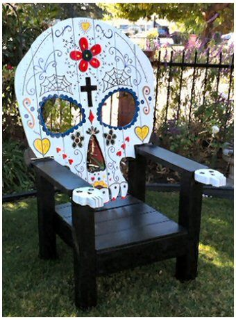 Day of the Dead Chair