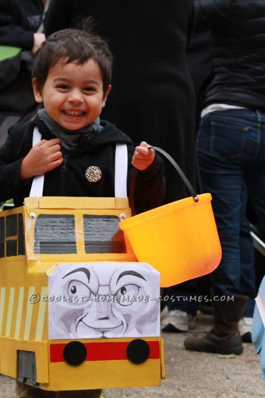 Cool DIY Father and Son Costume: Cranky the Crane and Diesel 10... This website is the Pinterest of costumes