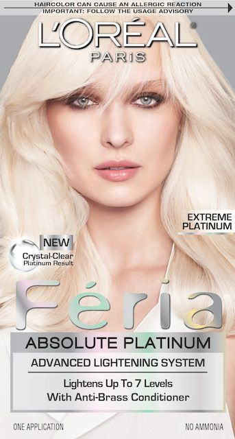 L'Oreal Paris Feria Absolute Platinum in Extreme Platinum.jpg