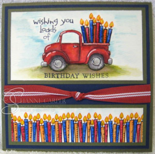 Stampin Up Loads of Fun | Loads of Love Birthday Card