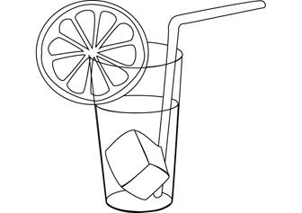 Lemonade Drawing Coloring Pages Lemonade Art Lessons For Kids
