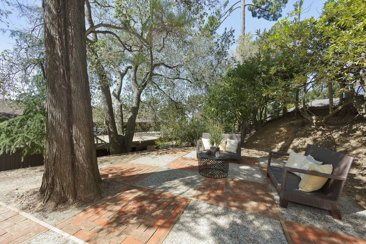 Private, back patio at 6120 Castle.  Perfect for entertaining - perhaps a hot tub!