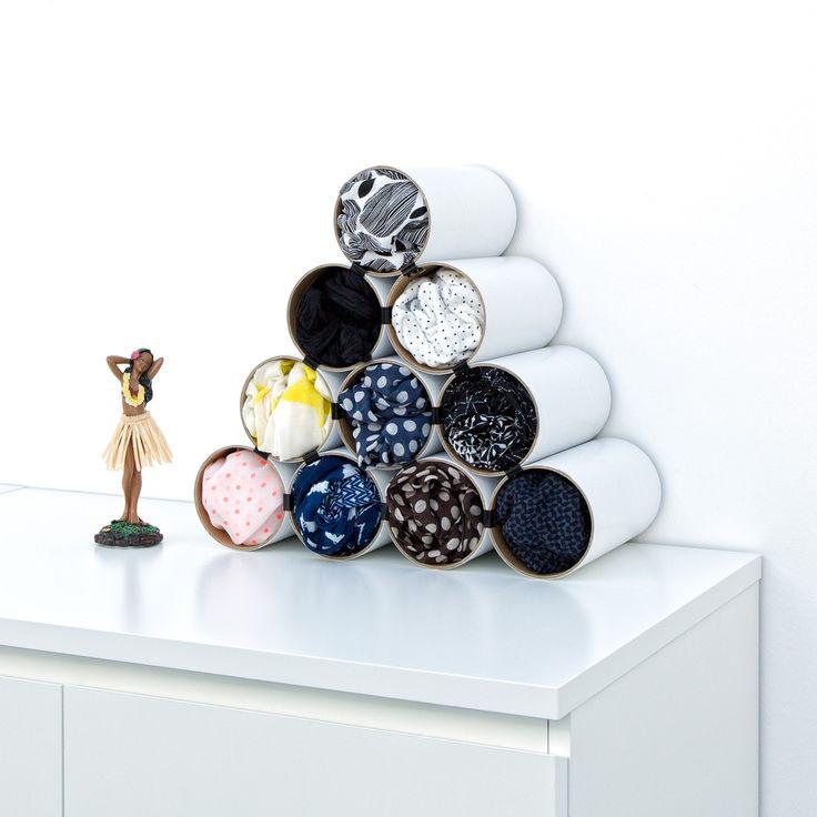 die besten 25 schals organisieren ideen auf pinterest organisation von schals. Black Bedroom Furniture Sets. Home Design Ideas