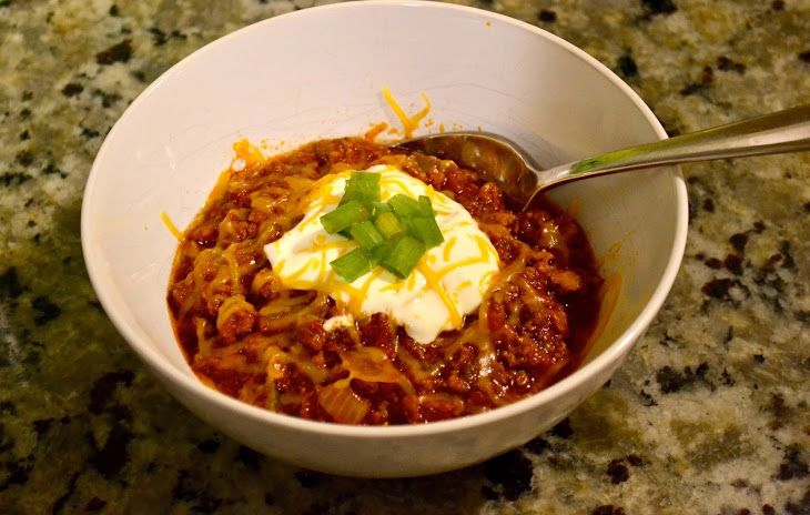 Keto Chili With Ground Beef Hot Italian Sausage Green Bell Pepper Yellow Onion Diced Tomatoes Tomato Paste Keto Chili Recipe Low Carb Meals Easy Recipes