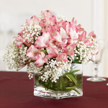 Alstroemeria Package Weddings by Design ‑ HEB
