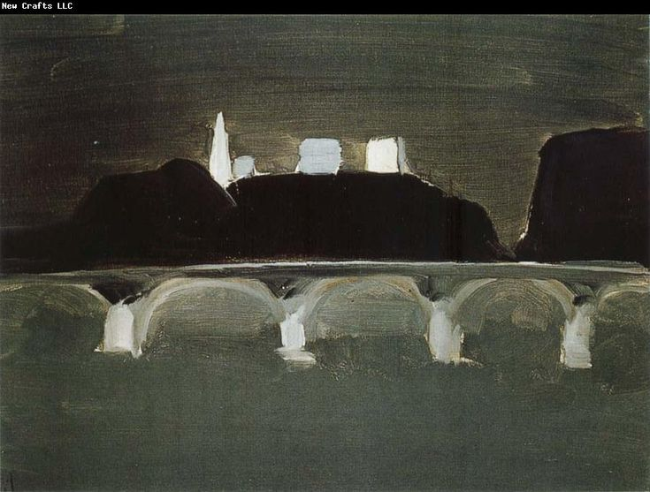 Nicolas de Stael.  The Night of Paris.