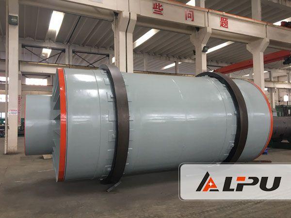 30 tons per hour ilmenite drying system