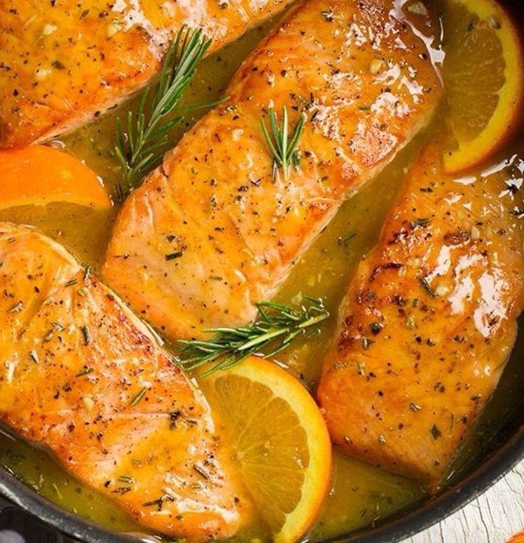 Portakallı Somon Fileto Nasıl Yapılır?