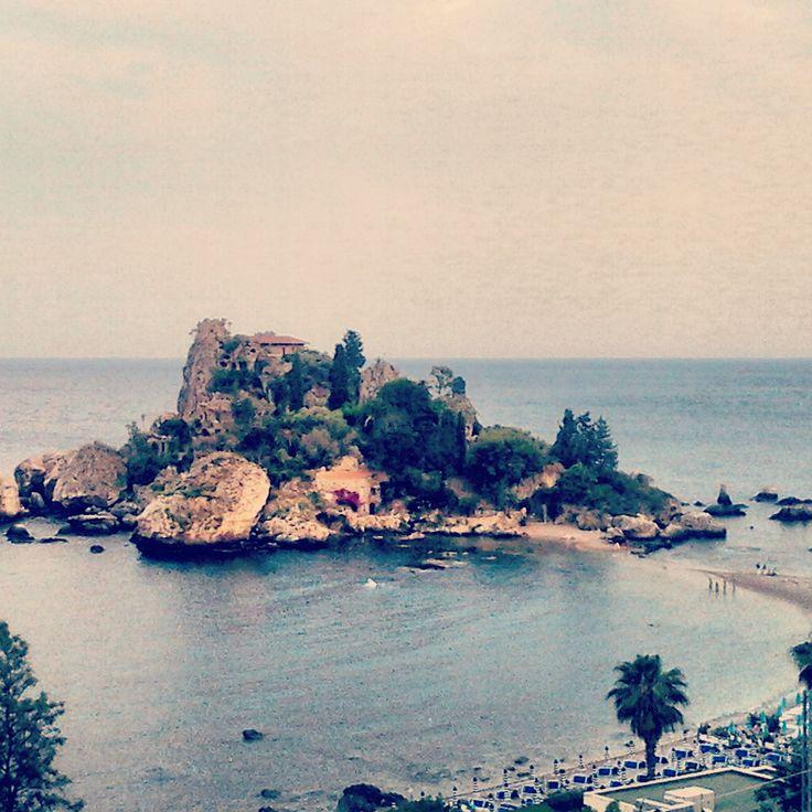 Isola Bella beautiful beach in Taormina #sicily #holiday #summer #hellosicilia