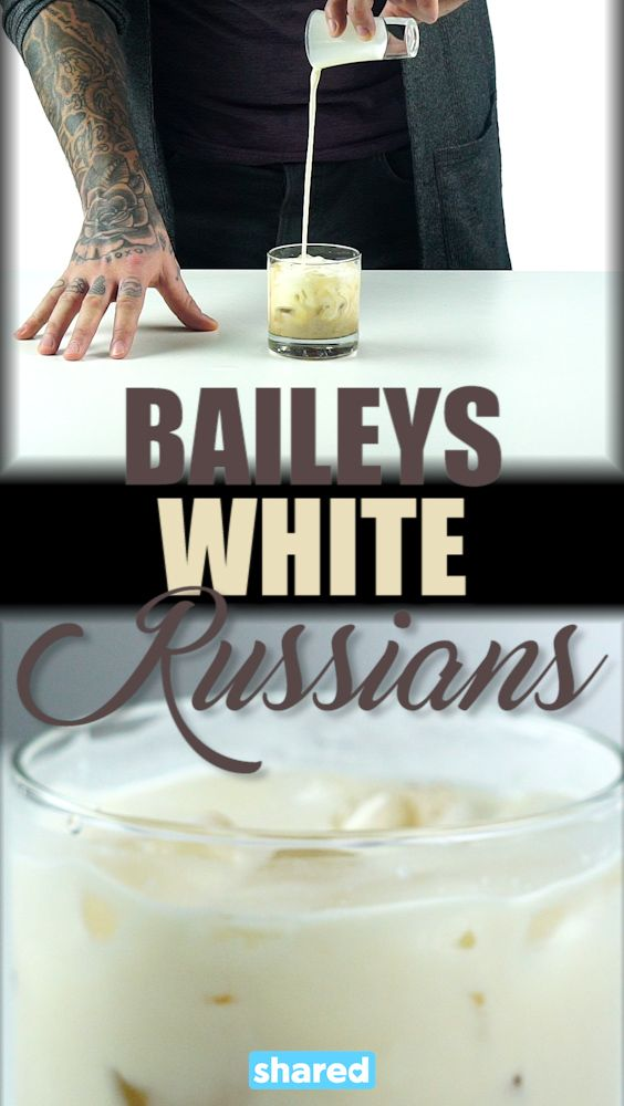 A White Russian is a classic drink but there is always room for improvement! Turn up the flavor by making it a Baileys White Russian and enjoy the extra creaminess that comes with it!  It's so easy to make these fancy cocktails and will always impress your guests. It's always fun to know how to make different cocktails for different occasions so enjoy adding this one to your repertoire!
