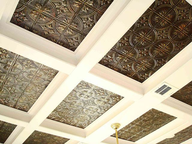 Decorative Tin Ceiling Tiles 8 Best Images About Metal Ceilings On Pinterest  Antiques