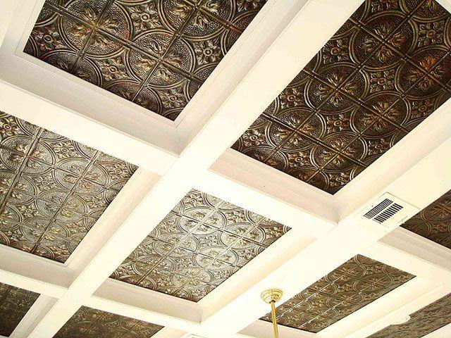 Tin ceiling.. or backsplash!