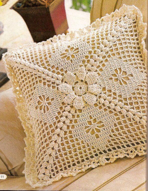 Crochet con amor: Accesorios para la casa