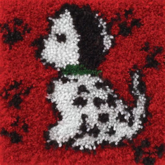 """<div>Not sure if you want to make 101 of these, but he sure is cute! This precious 12"""" x 12"""" dal..."""