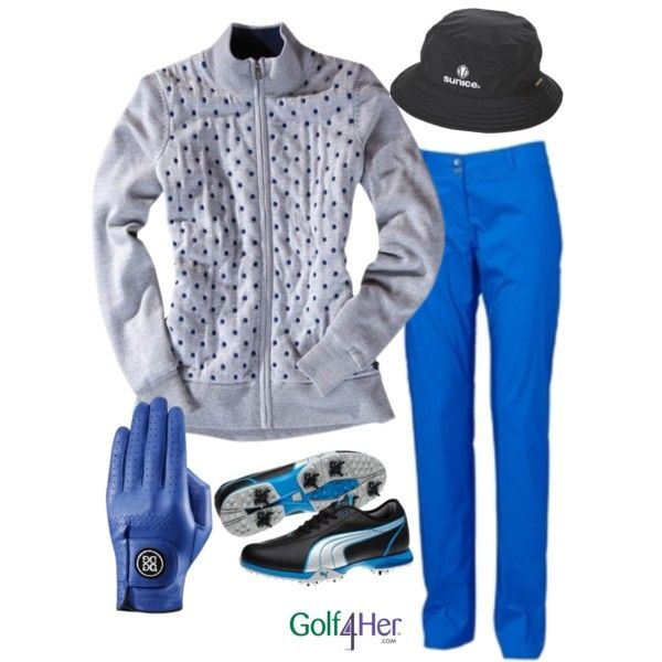 Ladies Golf OOTD: Intense Blue