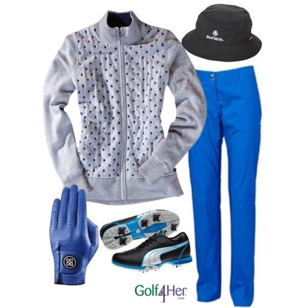 Ladies Golf OOTD: Intense Blue