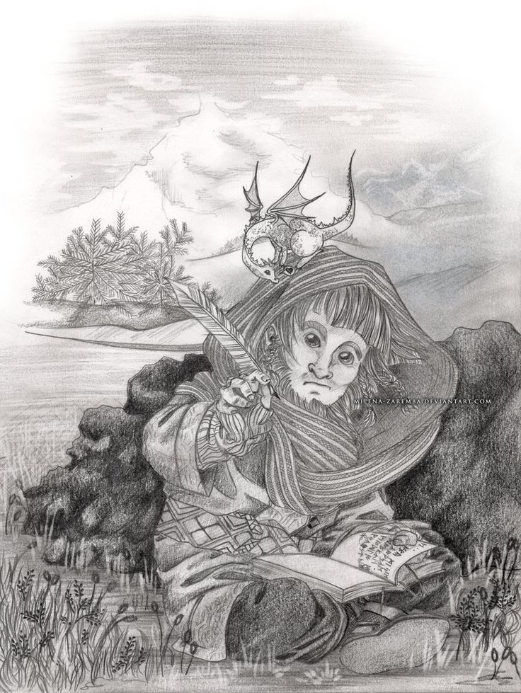 Ori by Milena-Zaremba  http://milena-zaremba.deviantart.com/ https://www.instagram.com/milena.zaremba/ https://www.facebook.com/MilenaZarembaArt http://milena-zaremba.tumblr.com/  #artwork #fantasy #fanart #hobbit #tolkien #pencil #dragon #dwarf #book #literature #epic #writing #traditional #art