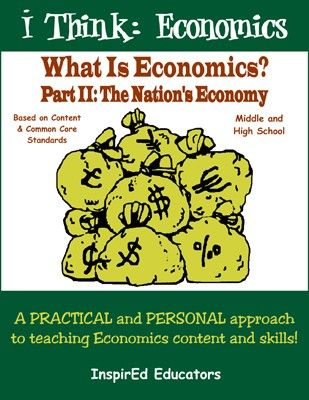 This Common Core teaching unit from InspirEd Educators includes 15 single-class lessons to teach economic principles and standards. Topics include: production possibilities, GDP, CPI, globalization, comparative advantage, unemployment, Adam Smith, and much more.