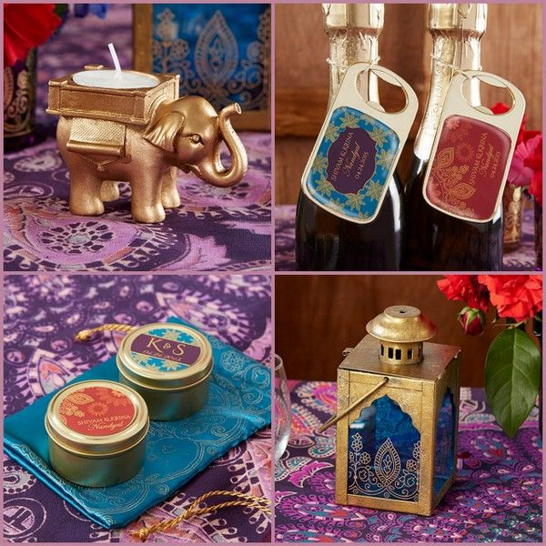 Indian Jewel Wedding Favors from HotRef.com