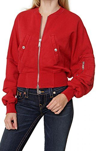 Dsquared² Damen Pullover Sweatjacke , Farbe: Rot, Größe: ... https://www.amazon.de/dp/B00V5GC6DM/ref=cm_sw_r_pi_dp_x_cG3IzbFGSN8MB