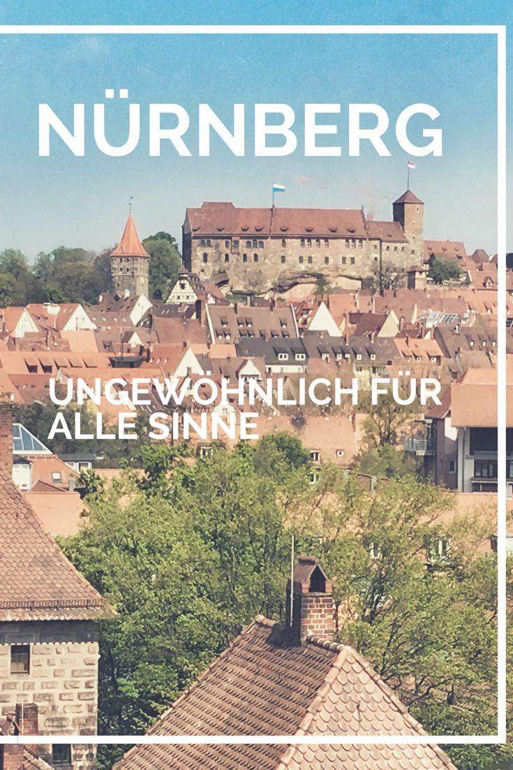Nürnberg auf Städtereise mit allen Sinnen erleben heißt ungewöhnlich Übernachten in der Kaiserburg, unterirdische Keller erleben und sinnliche Türme besteigen. Citytrip in Franken, Bayern, Deutschland