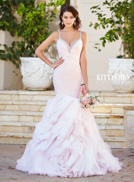 Wedding Dresses | Bridal Gowns | KittyChen Couture - Paloma #kittychen