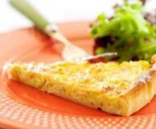Receita Quiche rápida de alho francês por Equipa Bimby