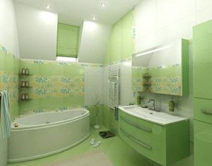 awesome Green fresh bathroom ideas