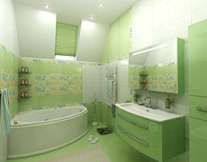 awesome Green fresh bathroom ideas