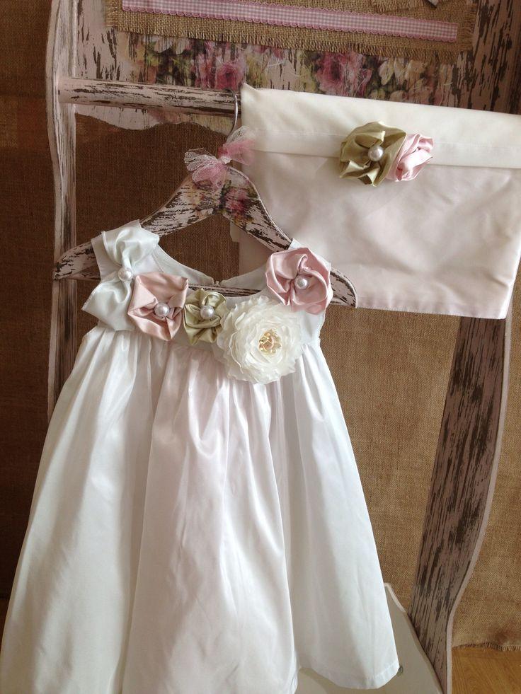 Pupetta christening dress/ Nikolas Ker www.nikolas-ker.gr