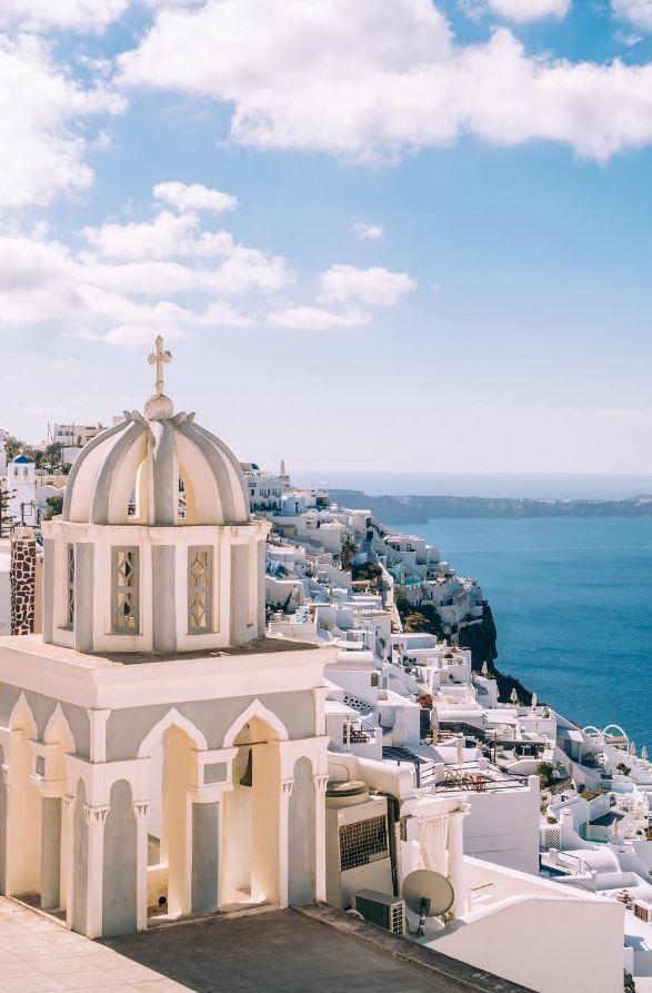 Santorini Imerovigli, Greece