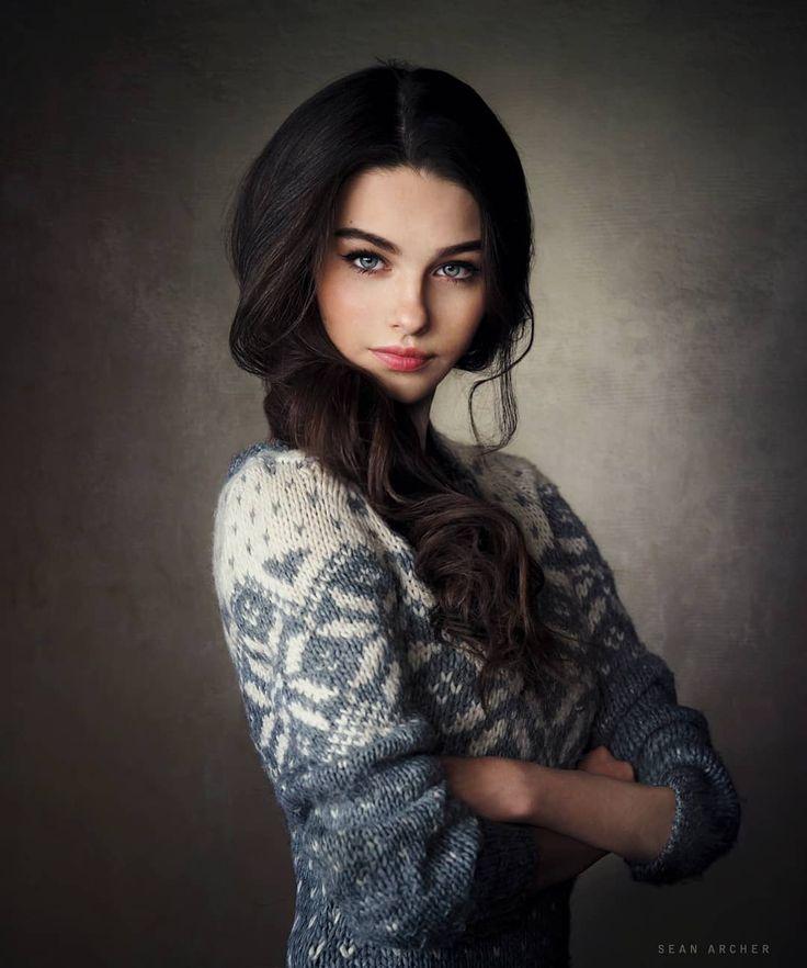 Gorgeous Female Portrait Photography by Sean Archer