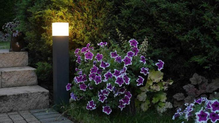 Lampa ogrodowa CUBE MAX stojąca 100 cm SU-MA czarna CB-MAX 1000 BL
