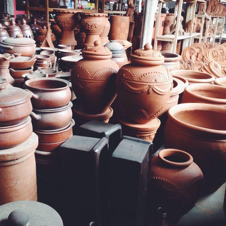 Kasongan Pottery Shopping Complex, Bantul Jogjakarta