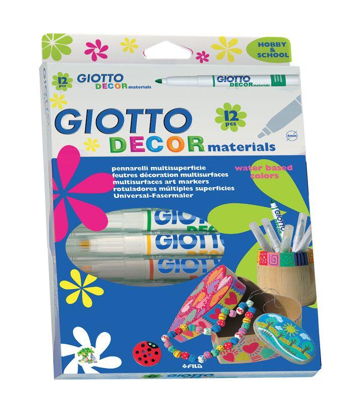 Giotto Decor Materials cf. 12 pz